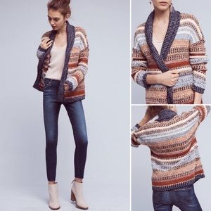 Anthro {Knitted & Knotted} Boxy Michela Sweater